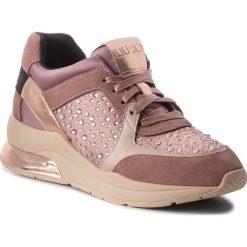 Sneakersy LIU JO - Karlie 05 B68003 TX003 Rose 01597. Czerwone sneakersy damskie Liu Jo, z materiału. Za 739,00 zł.