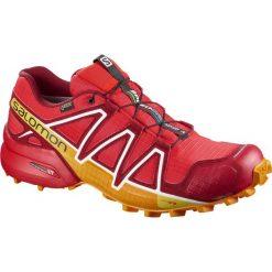 Buty sportowe męskie: Salomon Buty męskie Speedcross 4 GTX Fiery Red/Red Dahlia/Bright Marigold r. 42 2/3 (400932)