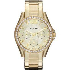 Fossil - Zegarek ES3203. Różowe zegarki damskie marki Fossil, szklane. Za 499,90 zł.