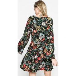 Answear - Sukienka. Szare sukienki ANSWEAR, na co dzień, l, z poliesteru, casualowe, mini, proste. W wyprzedaży za 89,90 zł.