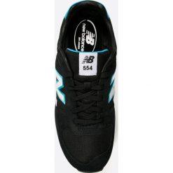 New Balance - Buty ML554JB. Czarne halówki męskie marki New Balance. W wyprzedaży za 219,90 zł.