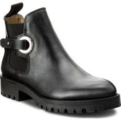 Sztyblety BOSS - Madie 50376668 10191370 01 Black 001. Czarne buty zimowe damskie Boss, ze skóry, na obcasie. W wyprzedaży za 889,00 zł.
