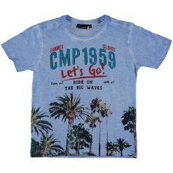 Odzież chłopięca: Koszulka w kolorze błękitnym