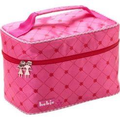Kosmetyczki damskie: Kosmetyczka w kolorze różowym – 25 x 17 x 15 cm