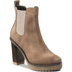 Botki TOMMY HILFIGER - DENIM Cleo 13B FW0FW01382 Taupe Grey 009. Brązowe buty zimowe damskie marki NEWFEEL, z gumy. W wyprzedaży za 399,00 zł.
