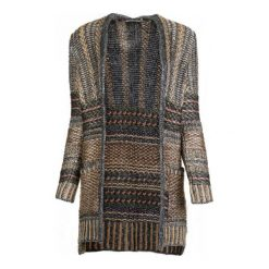 Swetry damskie: Desigual Sweter Damski Mach Xs Szary