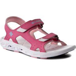 Sandały COLUMBIA - Youth Techsun Vent BY4566 Wild Geranium 656. Czerwone sandały dziewczęce Columbia. W wyprzedaży za 139,00 zł.