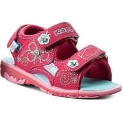 Sandały dziewczęce: Sandały KAPPA – Bloomy K 260446K Pink/Turkis 2266