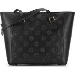 Torebka damska 87-4E-422-1. Czarne shopper bag damskie Wittchen, z tłoczeniem. Za 399,00 zł.
