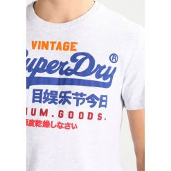 T-shirty męskie z nadrukiem: Superdry PREMIUM GOODS Tshirt z nadrukiem ice marl