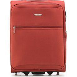 Walizka kabinowa V25-3S-241-65. Brązowe walizki marki Wittchen, małe. Za 99,00 zł.