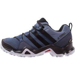 Adidas Performance TERREX AX2R GTX W Obuwie do biegania Szlak raw steal/core black/aero blue. Brązowe buty do biegania damskie marki adidas Performance, z gumy. Za 499,00 zł.