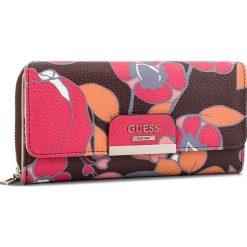 Duży Portfel Damski GUESS - SWFR64 22620  RFL. Różowe portfele damskie Guess, ze skóry ekologicznej. Za 279,00 zł.