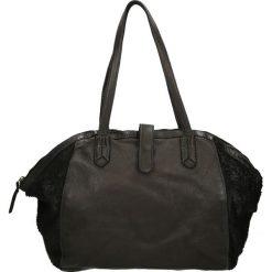 Torba - PLEAP76 BLACK. Żółte torebki klasyczne damskie marki Venezia, ze skóry. Za 549,00 zł.