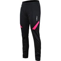 One Way Spodnie Damskie Ranya Softshell Pants Black/Pink S. Czarne bryczesy damskie One Way, s, z softshellu, na fitness i siłownię. W wyprzedaży za 259,00 zł.