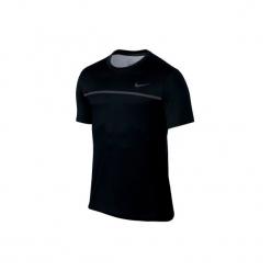 T-Shirt tenisowy Nike Challenger męski. Czarne t-shirty męskie marki Nike, l, z materiału. W wyprzedaży za 129,99 zł.
