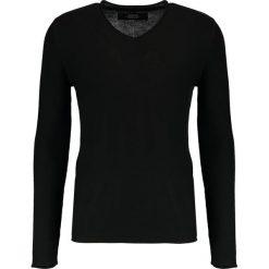 Swetry klasyczne męskie: Replay Sweter black