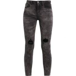 Vila Jeans Skinny Fit grey denim. Szare boyfriendy damskie Vila. W wyprzedaży za 125,40 zł.