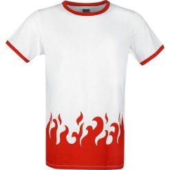 T-shirty męskie z nadrukiem: Naruto Shippuden - 4th Hokage T-Shirt biały/czerwony