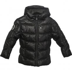 Kurtka zimowa w kolorze czarnym. Czarne kurtki dziewczęce zimowe marki Peak Mountain. W wyprzedaży za 165,95 zł.