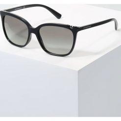 Emporio Armani Okulary przeciwsłoneczne black. Czarne okulary przeciwsłoneczne damskie lenonki Emporio Armani. Za 509,00 zł.