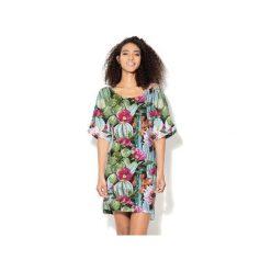 Sukienka CP-024  8. Fioletowe sukienki dzianinowe marki Colour pleasure, uniwersalny. Za 149,00 zł.