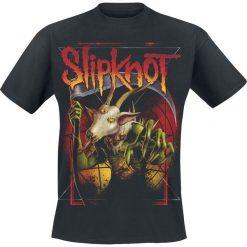 T-shirty męskie z nadrukiem: Slipknot Goat Reaper T-Shirt czarny