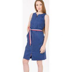 Sukienki: Sukienka na lato z paskiem