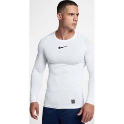 Nike Koszulka męska M NP TOP LS COMP biała r. M (838077 100). Białe t-shirty męskie Nike, m. Za 129,00 zł.
