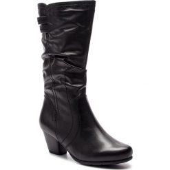 Kozaki JANA - 8-25340-21 Black 001. Czarne buty zimowe damskie Jana, z polaru. W wyprzedaży za 329,00 zł.