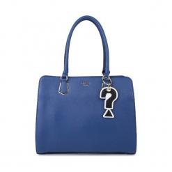 Guess Torebka Damska, Niebieska. Niebieskie torebki klasyczne damskie marki Guess, z aplikacjami. Za 639,00 zł.