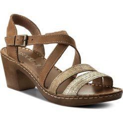 Sandały damskie: Sandały LASOCKI – H872 Camel