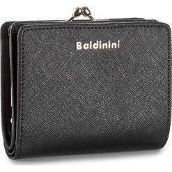 Mały Portfel Damski BALDININI - 676505PR Ner. Czarne portfele damskie Baldinini, ze skóry. W wyprzedaży za 339,00 zł.