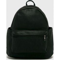 Answear - Plecak. Czarne plecaki damskie ANSWEAR, z materiału. W wyprzedaży za 59,90 zł.