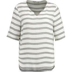 Bluzki asymetryczne: Betty & Co Bluzka white/grey
