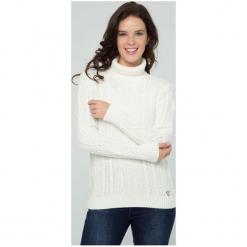 Sir Raymond Tailor Sweter Damski Xl Biały. Białe swetry klasyczne damskie Sir Raymond Tailor, xl, z wełny. W wyprzedaży za 199,00 zł.