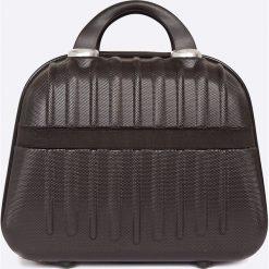 VIP COLLECTION - Walizka 16 L. Czarne walizki marki VIP COLLECTION, z materiału, małe. W wyprzedaży za 119,90 zł.