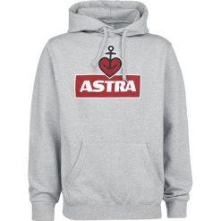 Astra Heart Anchor Bluza z kapturem odcienie szarego. Szare bluzy męskie rozpinane marki Astra, s, z nadrukiem, długie, z kapturem. Za 199,90 zł.