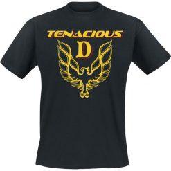 T-shirty męskie: Tenacious D Firebird T-Shirt czarny