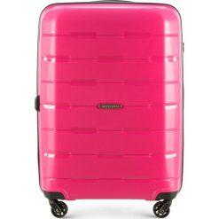 Walizka średnia 56-3T-722-77. Czerwone walizki marki Wittchen, z gumy, średnie. Za 229,00 zł.