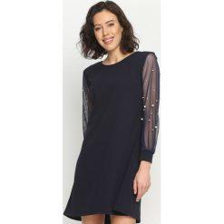 Sukienki hiszpanki: Granatowa Sukienka Little Elements