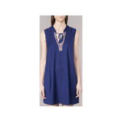 Sukienki krótkie Roxy  MAGICHOUR. Białe sukienki mini marki Roxy, l, z nadrukiem, z materiału. Za 231,20 zł.