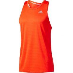 Koszulki sportowe męskie: Adidas Koszulka biegowa Response Singlet pomarańczowa r. XL