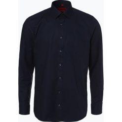 Finshley & Harding - Koszula męska – Red Label, niebieski. Czerwone koszule męskie na spinki Finshley & Harding, m, z bawełny, z długim rękawem. Za 129,95 zł.