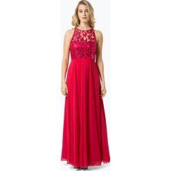 VM - Damska sukienka wieczorowa, czerwony. Czarne sukienki koktajlowe marki Mohito, l, z dekoltem na plecach. Za 449,95 zł.