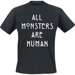 T-shirty męskie z nadrukiem: American Horror Story All Monsters Are Human T-Shirt czarny