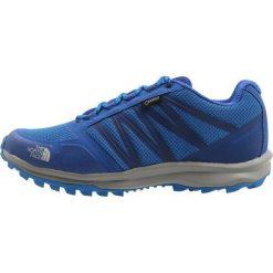 The North Face LITEWAVE GTX  Obuwie hikingowe urban navy/blue. Niebieskie buty trekkingowe męskie The North Face, z materiału, outdoorowe. W wyprzedaży za 359,10 zł.