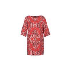 Sukienki krótkie Vero Moda  VMGYANA. Czerwone sukienki mini marki Vero Moda, l, z krótkim rękawem. Za 179,00 zł.