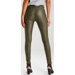 Legginsy: Cream BELUS KATY Legginsy army green