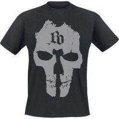 Böhse Onkelz BO Skull T-Shirt czarny. Czarne t-shirty męskie z nadrukiem Böhse Onkelz, m, z okrągłym kołnierzem. Za 94,90 zł.